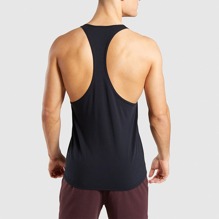 High-stretch slim fit Singlet Tops