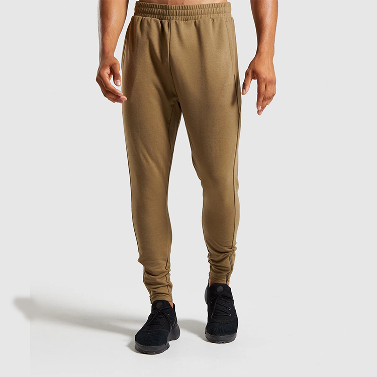 Cut Loosely Fitted Cuffs Sweat Pant