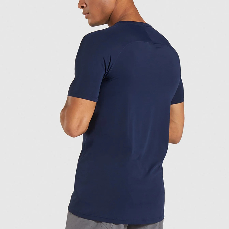 High-stretch slim fit men tshirt