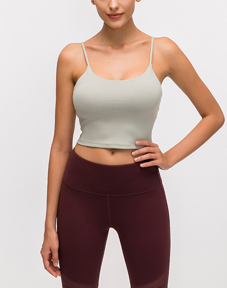women sports crop top