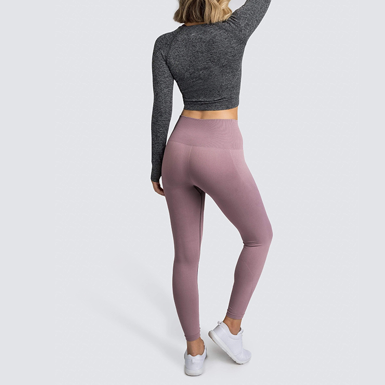 Super-soft material seamless tops