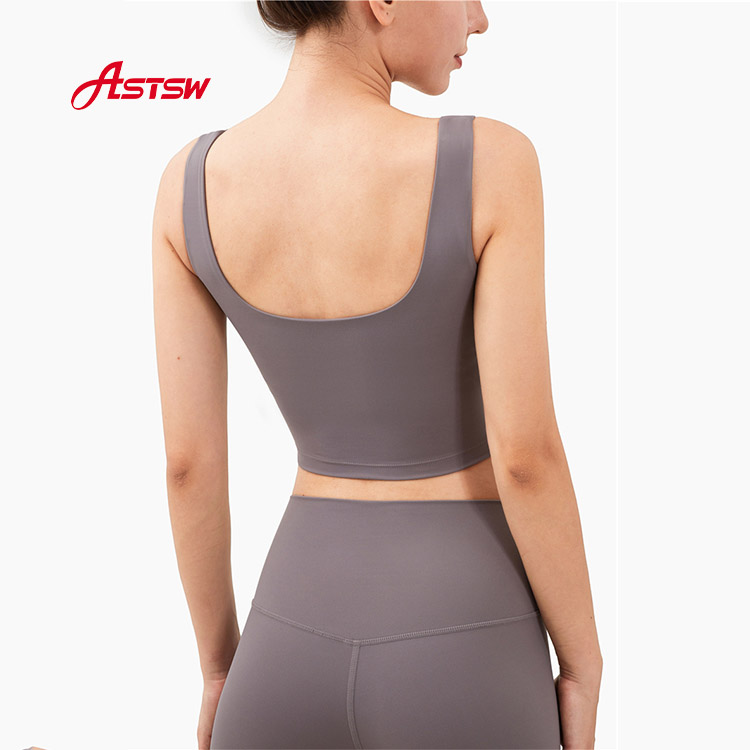 Removable Backless Yoga Bra