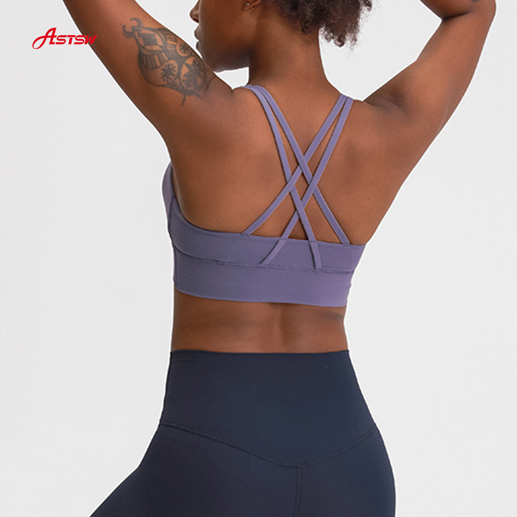 sports bra adjustable straps
