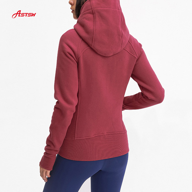 running jacket with women
