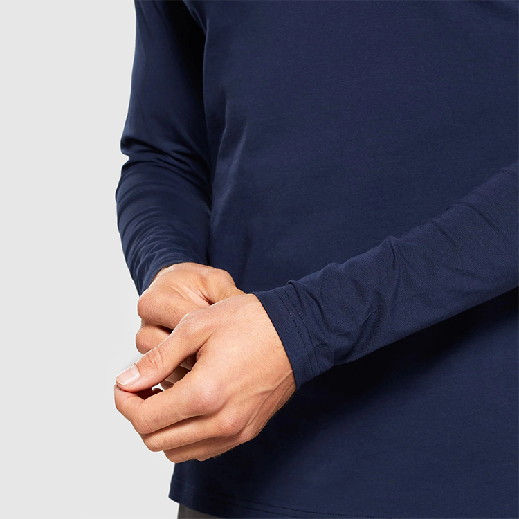 Compression fitting  Long Sleeve  tee shirts for men
