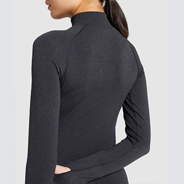 Seamless women Hooded  jacket