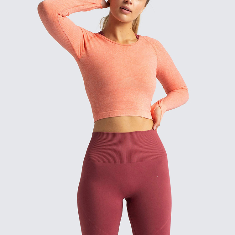 ribbed crop with built in bra run bra