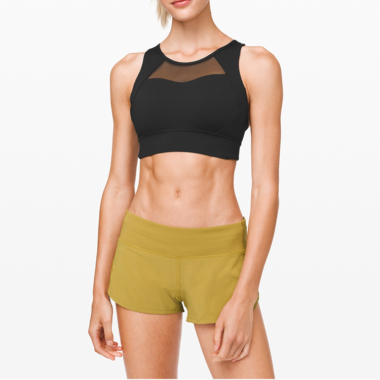 four way stretch Support sports bra
