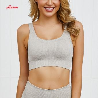 four way stretch Medium support sports bra
