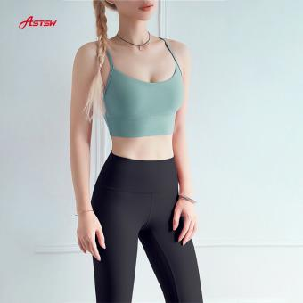 Gym workouts light support sports bra