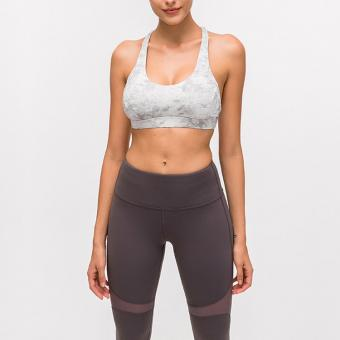Printed Workout Bra