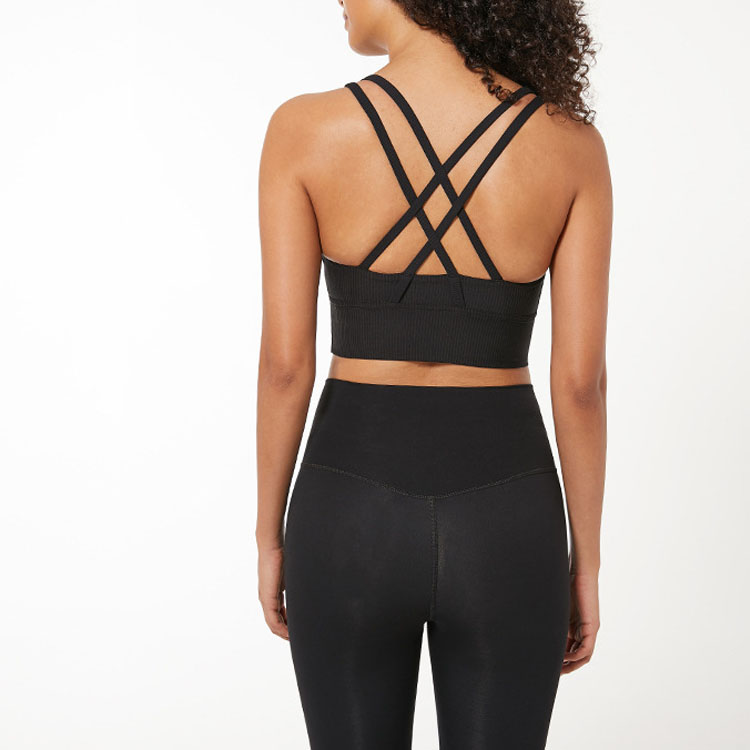U-Shaped Sports Bra