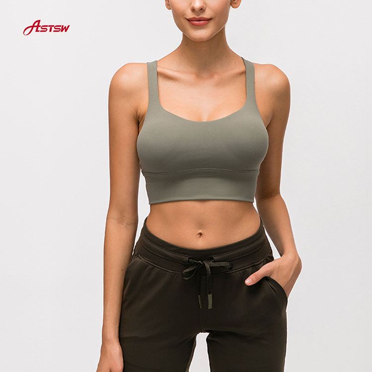 Removable Pads Sports Bra