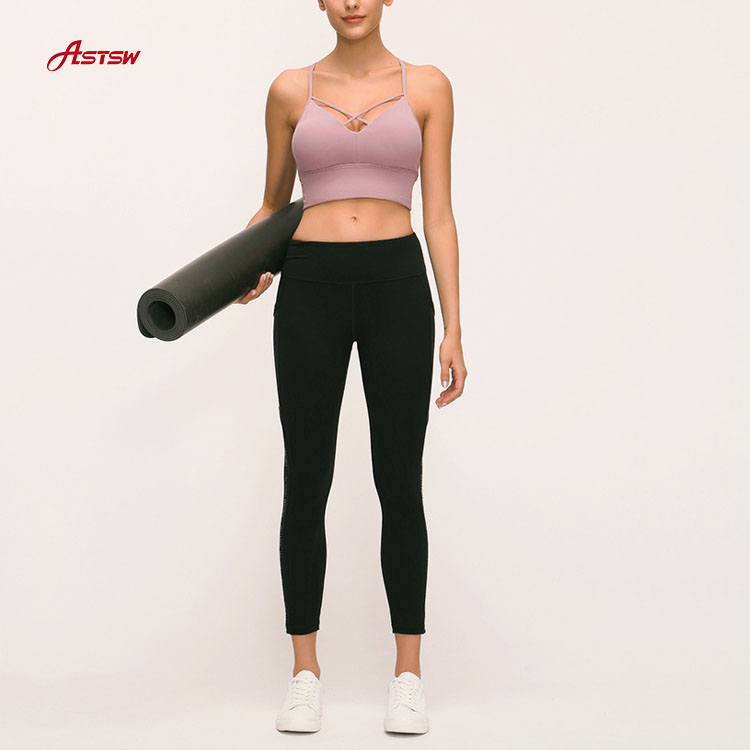 Yoga Sports Bra Removable Cups
