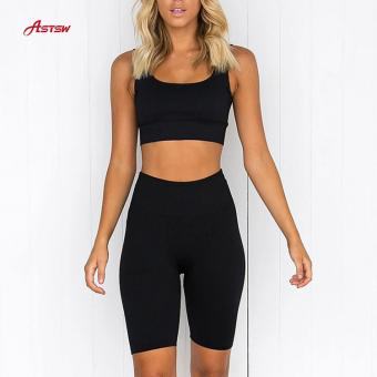 Gym Fitness Shorts Set