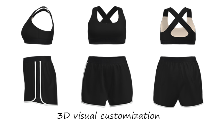 3D Visual Customization for OEM